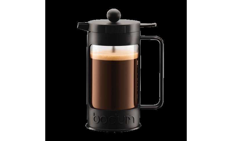bodum bean cafeti re piston caf s trottet. Black Bedroom Furniture Sets. Home Design Ideas