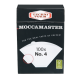 Moccamaster-Papierfilter Nr. 4 100S