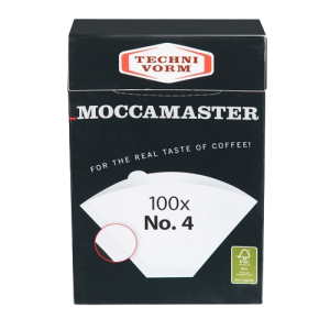 Moccamaster Paper Filters N ° 4 100P