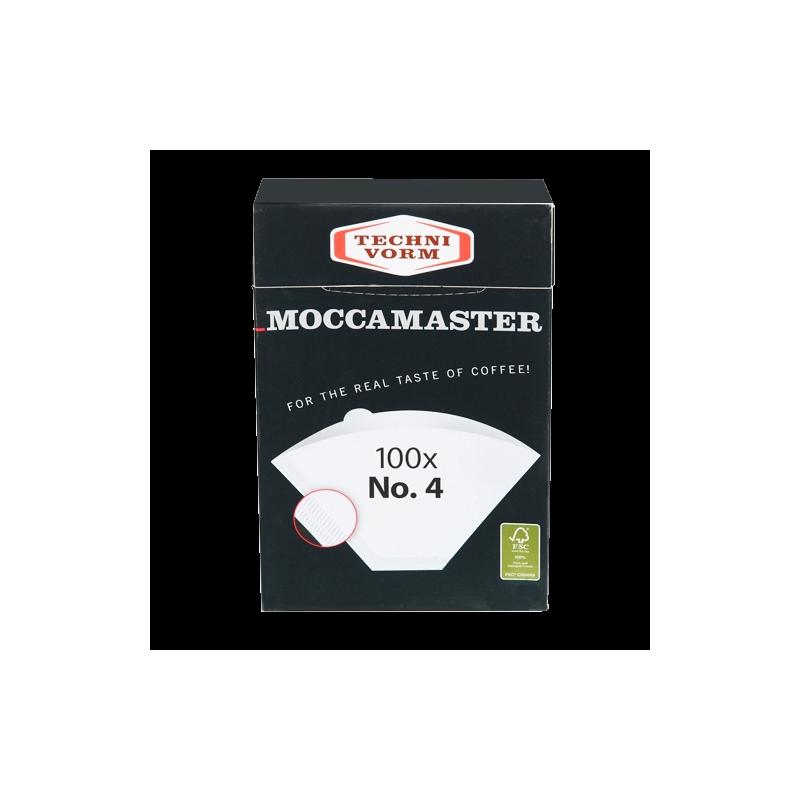 Moccamaster Filtres en papier N°4 100P