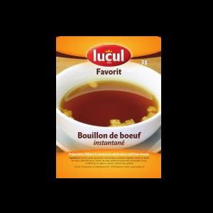 Bouillon Boeuf Lucul 3Gr 100P