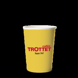 Trottet Gelbe Kartenbecher 10CL 80 S