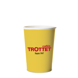 Trottet Yellow Cardboard Cups