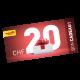 Gift CHF 20.-