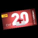 Bon Cadeau CHF 20.-
