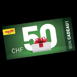 Gift CHF 50.-