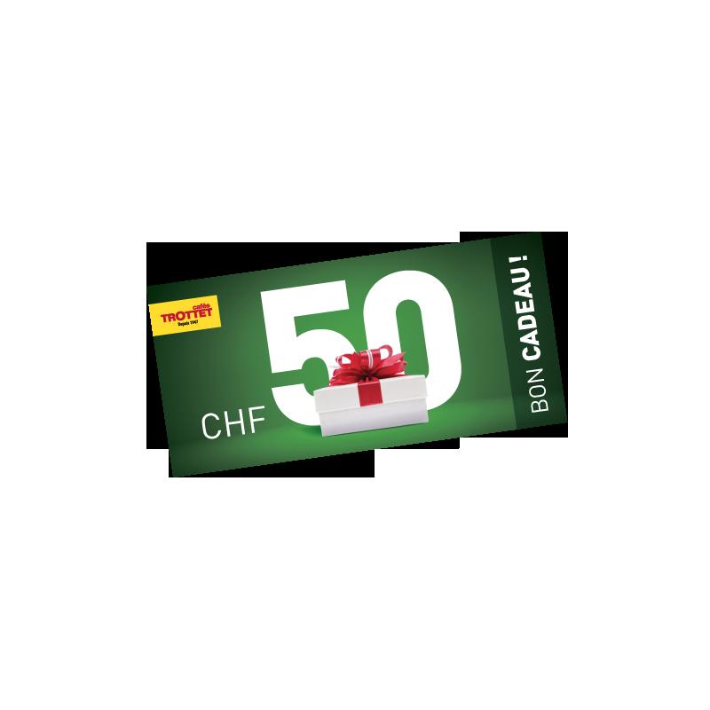 Bon Cadeau 50Chf