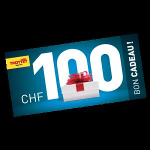 Bon Cadeau 100Chf