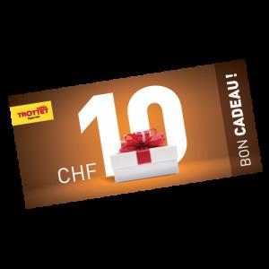 Gift CHF 10.-