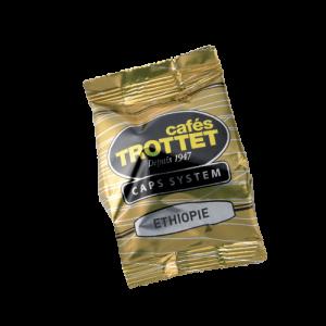 10 Caps System Ethiopie Compatibles Espresso Point Cafés Trottet