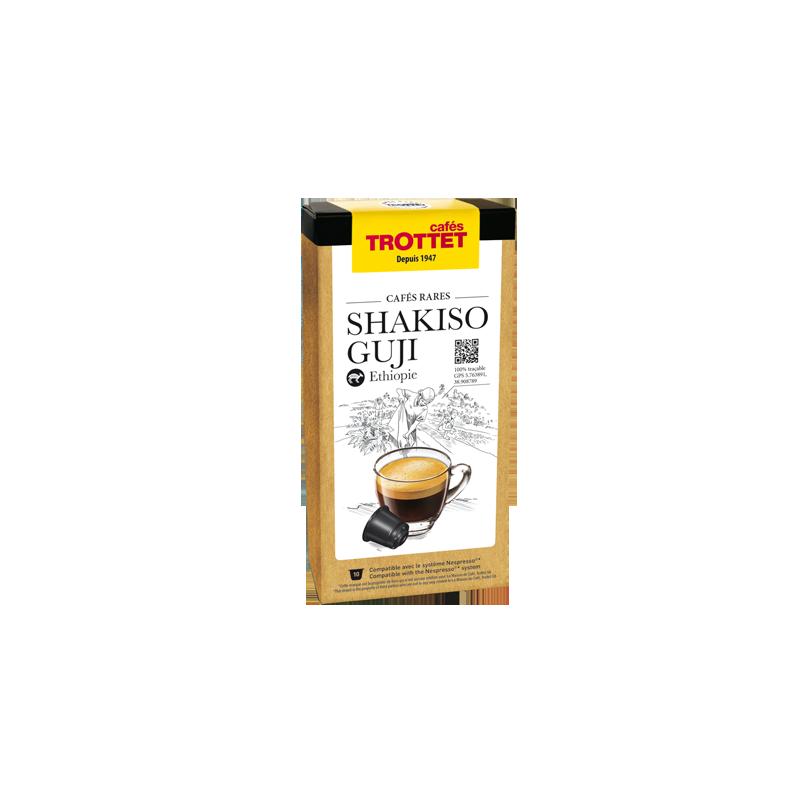 Cafés Trottet  10 Capsules Shakiso Guji Compatibles Nespresso® Cafés Trottet