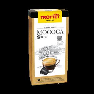 10 Capsules Mococa Bob-O-Link Brésil pour Nespresso® Cafés Trottet