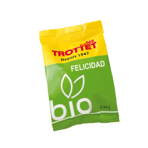 10 Caps System Felicidad Bio Compatibles Espresso Point Cafés Trottet