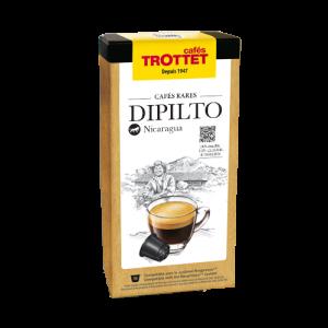 10 Capsules Dipilto Compatibles Nespresso® Cafés Trottet