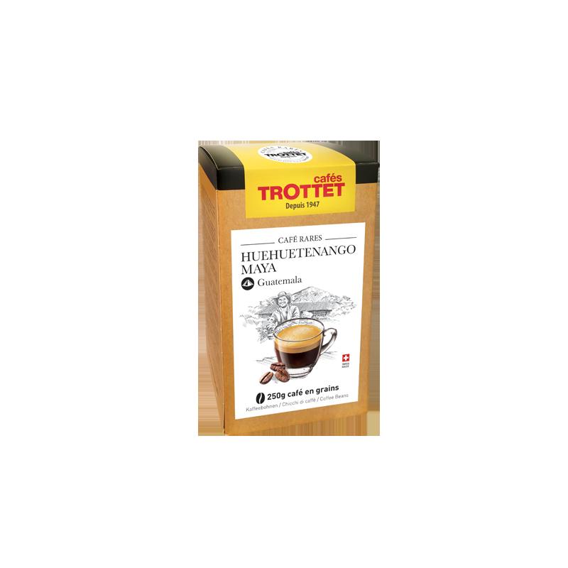 Cafés Trottet Maya Huehuetenango grains 250gr