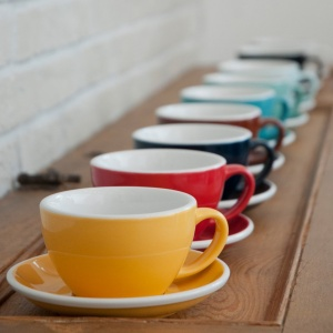 Loveramics Tassen espresso 80ml Gelb 6S