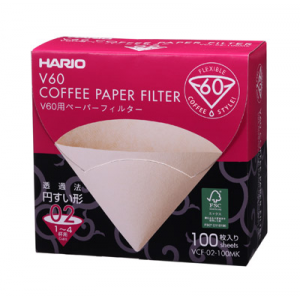 Hario Paper Filters for V60 1-4 Cups
