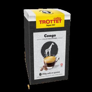 250 gr Café en grain Congo Cafés Trottet