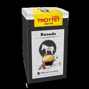 250g Café en grains Rwanda Cafés Trottet