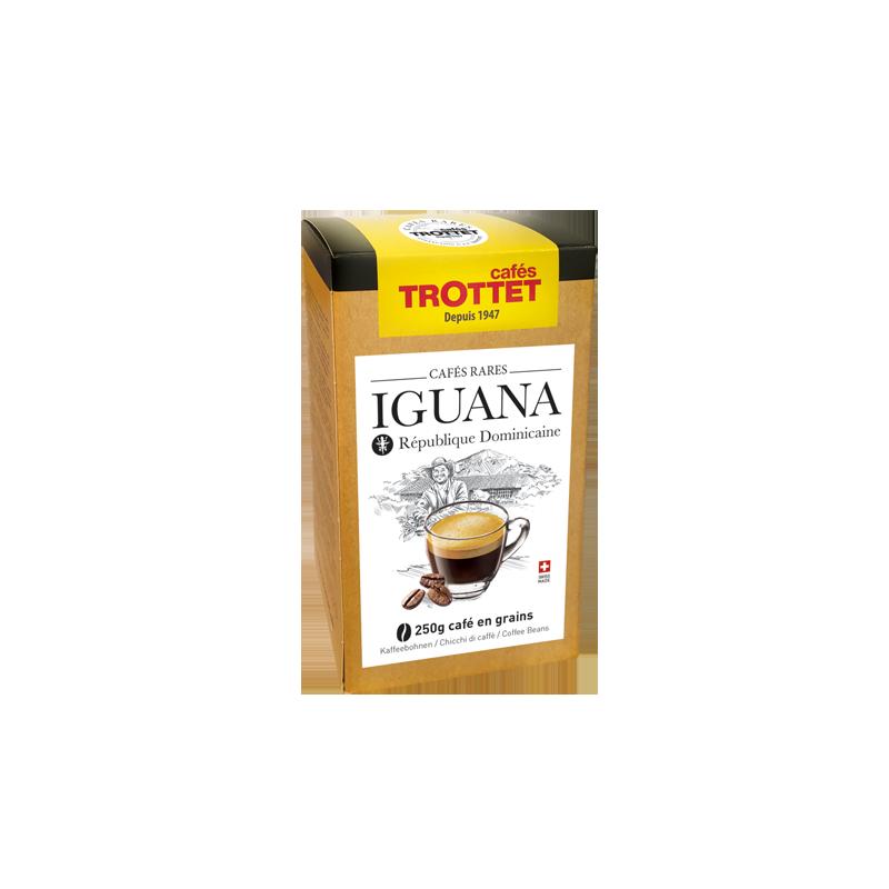 Cafés Trottet 250 gr Café en grain Iguana Cafés Trottet