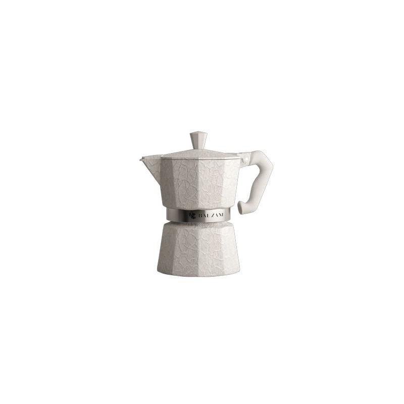 Balzani - Moka Damasco White 3 Cups