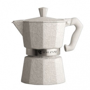Balzani - Moka Damasco White 6 Cups