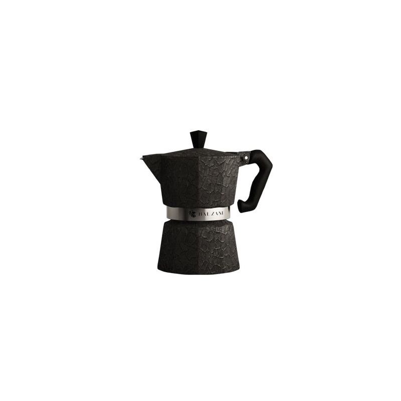 Balzani - Moka Damasco Black 6 Cups