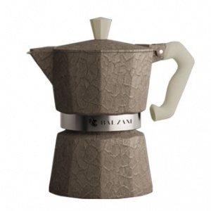 Balzani - Moka Damasco Grey 3 Cups