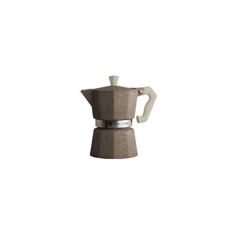 Balzani - Moka Damasco Grey 6 Cups