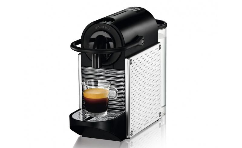nespresso pixie machine caf. Black Bedroom Furniture Sets. Home Design Ideas