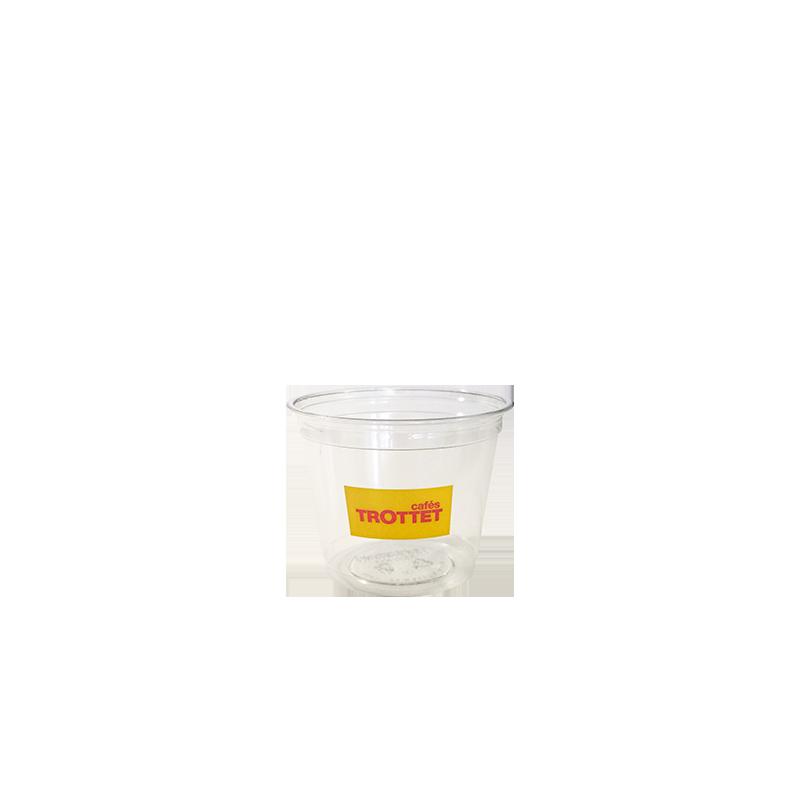 Gobelet plastique personnalisé trottet 25cl par 50p