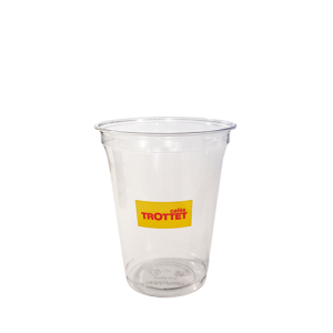 Gobelet plastique personnalisé trottet 40cl par 50p