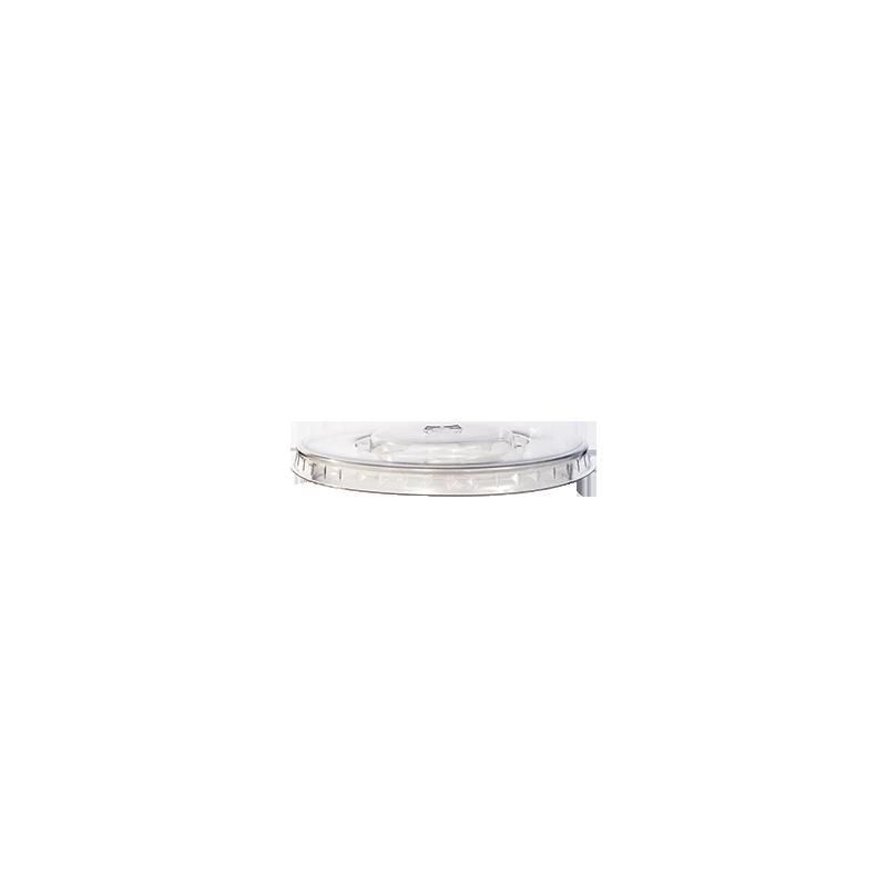 couvercle gobelet palt avec fente 98cm de diamètre transparent par 100p