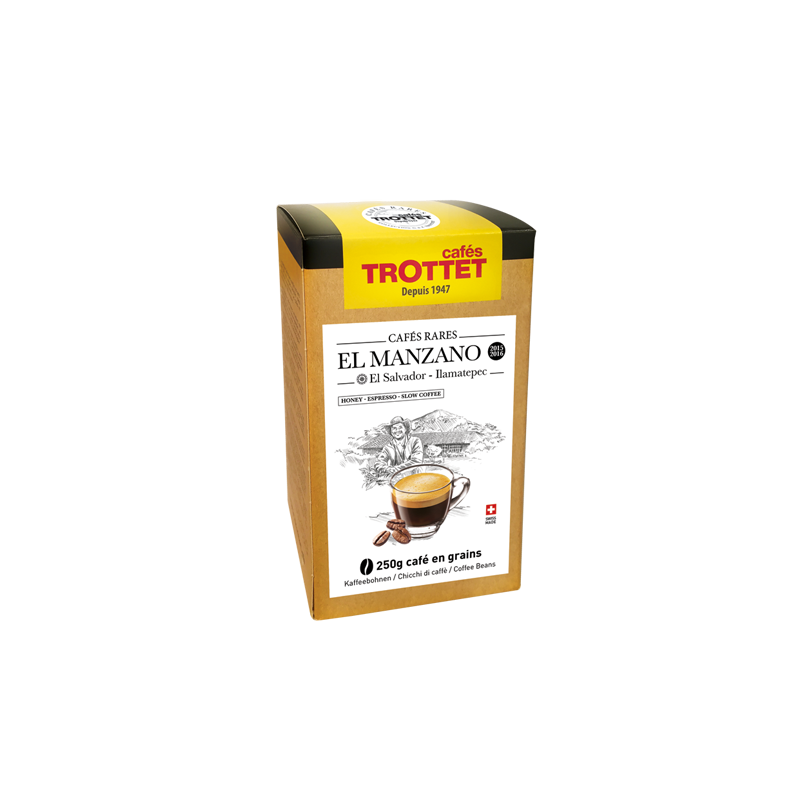Cafés Trottet El Man. Honey Salvador 250Gr