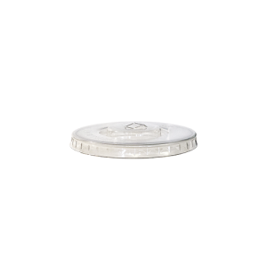 couvercle gobelet plat avec fente 81cm de diamètre transparent par 100p