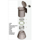 Bialetti - Venus Induction 4 tasses