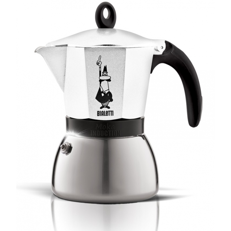 Bialetti - Moka induction 6 tasses blanc
