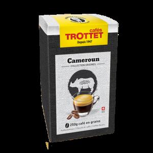 250 gr Café en grain Cameroun Cafés Trottet