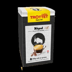 250 gr Café en grain Népal Bio Cafés Trottet