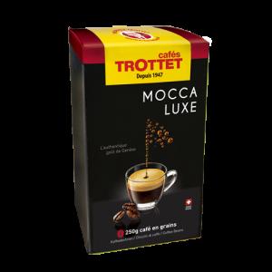 250 gr Café en grain Mocca Luxe Cafés Trottet