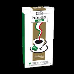 10 Capsules Eccellenza Crema Compatibles Nespresso® Cafés Trottet