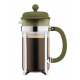 Bodum Caffettiera cafetière à piston verte 1L