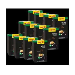 50 Capsules Melange Italien 50S Compatibles Nespresso® Cafés Trottet
