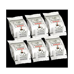 50 Caps System Eccellenza Espresso Compatibles Espresso Point Cafés Trottet