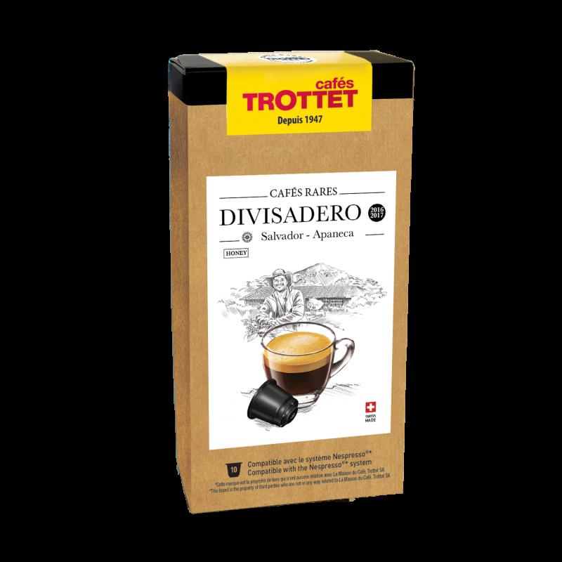 Cafés Trottet Capsules Salvador Divisadero honey