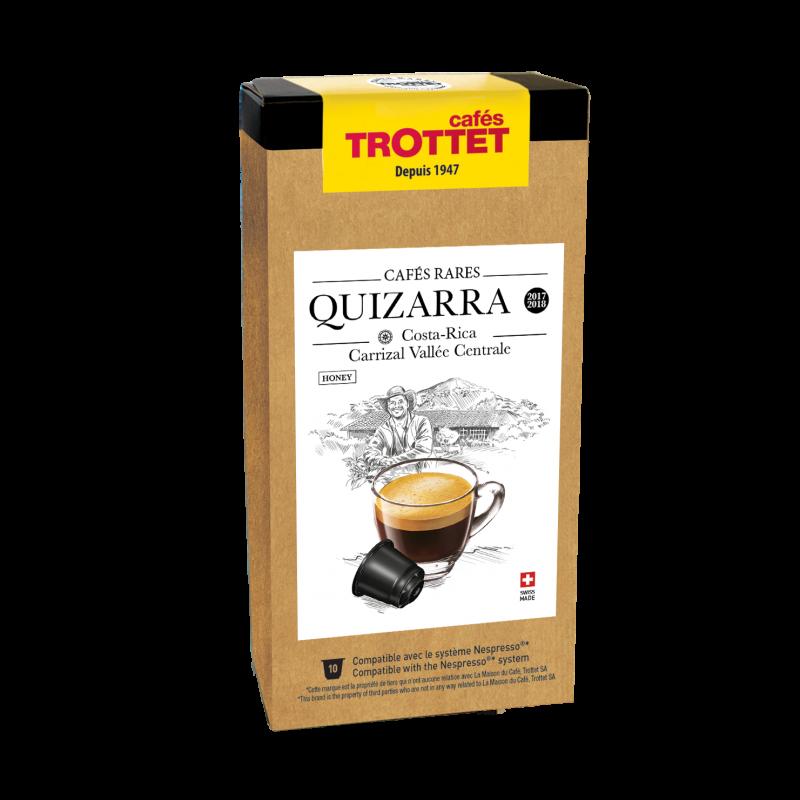 Cafés Trottet Capsules Costa Rica El Quizarra Honey 10s
