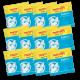 50 Caps Cafe Deca Compatible Dosettes E.S.E. Cafés Trottet