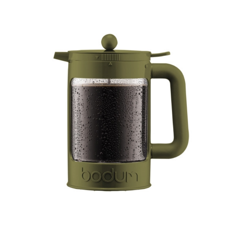 Bodum Bean Set Olive 12 Cups 1.5L