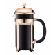 Bodum Chambord Copper 8 cups 1L