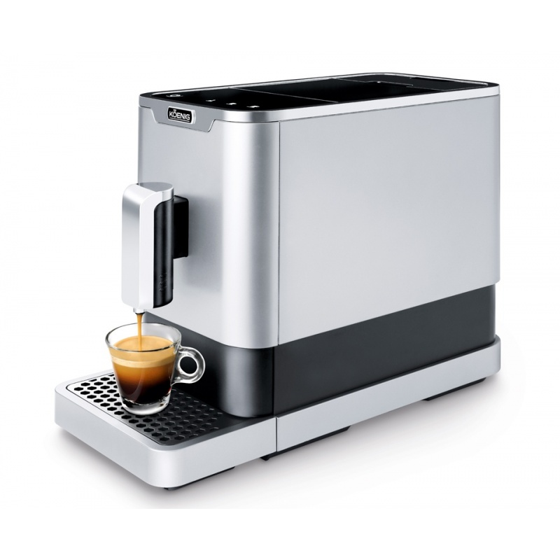 Koenig Finessa Kaffeevollautomat Silber